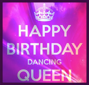 Happy birthday dancing queen