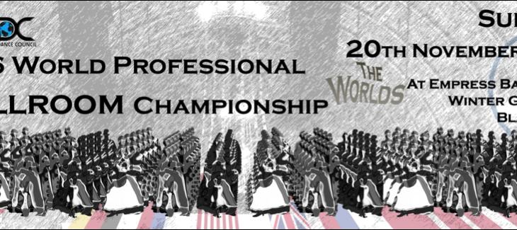 World Ballroom Championship – Blackpool Trip
